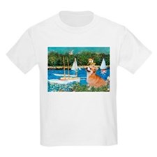 Monet's Sailboats T-Shirt