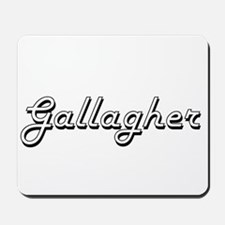 Gallagher surname classic design Mousepad