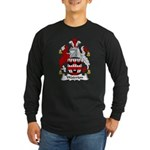 Waterton Family Crest Long Sleeve Dark T-Shirt