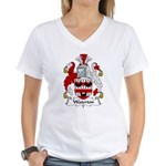 Waterton Family Crest Women's V-Neck T-Shirt