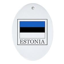 Estonia Ornament (Oval)