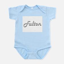 Fulton surname classic design Body Suit