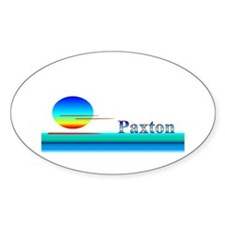 Paxton Oval Decal