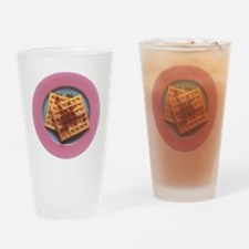 Waffles With Syrup Drinking Glass
