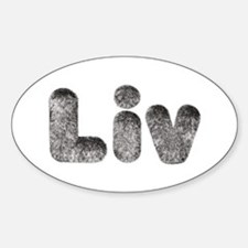Liv Wolf Oval Decal