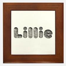 Lillie Wolf Framed Tile