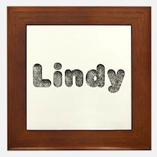 Lindy Wolf Framed Tile