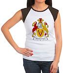 Waterman Family Crest Women's Cap Sleeve T-Shirt