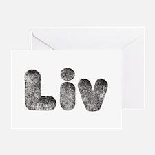 Liv Wolf Greeting Card