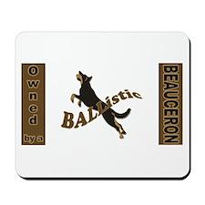Ballistic Beauceron Landscape Mousepad