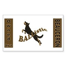 Ballistic Beauceron Landscape Decal
