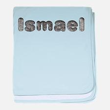 Ismael Wolf baby blanket