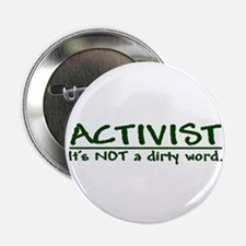 """""""A dirty word"""" 2.25"""" Button (10 pack)"""