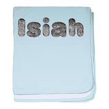 Isiah Wolf baby blanket