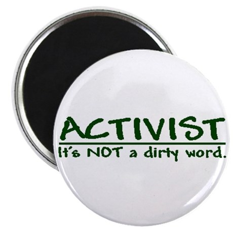 """""""A dirty word"""" 2.25"""" Magnet (10 pack)"""