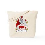 Washburn Family Crest Tote Bag