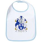 Warwick Family Crest  Bib