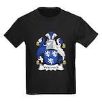 Warwick Family Crest Kids Dark T-Shirt