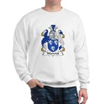 Warwick Family Crest  Sweatshirt