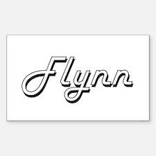 Flynn surname classic design Decal