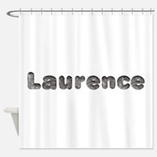 Laurence Wolf Shower Curtain