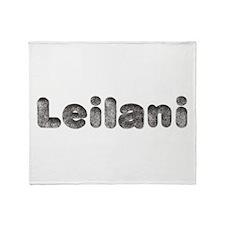 Leilani Wolf Throw Blanket