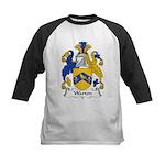 Warton Family Crest Kids Baseball Jersey
