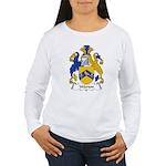 Warton Family Crest Women's Long Sleeve T-Shirt
