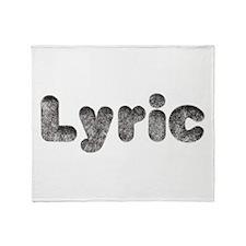 Lyric Wolf Throw Blanket