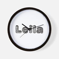 Leila Wolf Wall Clock