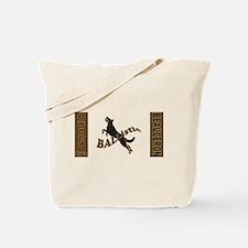 Ballistic Beauceron Landscape Tote Bag