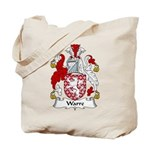 Warre Family Crest Tote Bag
