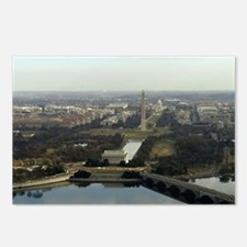 Washington DC Aerial Phot Postcards (Package of 8)