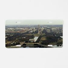 Washington DC Aerial Photog Aluminum License Plate