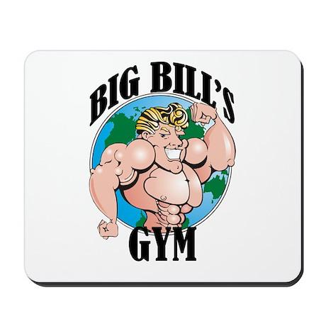 Big Bill's Gym Mousepad
