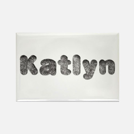 Katlyn Wolf Rectangle Magnet