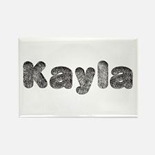 Kayla Wolf Rectangle Magnet