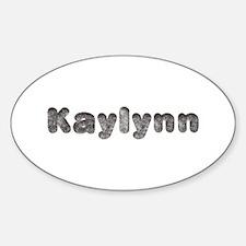 Kaylynn Wolf Oval Decal