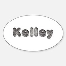 Kelley Wolf Oval Decal