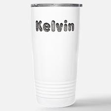 Kelvin Wolf Ceramic Travel Mug