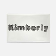 Kimberly Wolf Rectangle Magnet