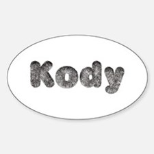 Kody Wolf Oval Decal