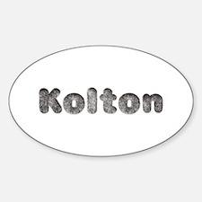 Kolton Wolf Oval Decal