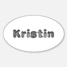 Kristin Wolf Oval Decal