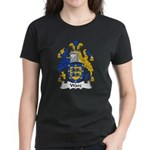 Ware Family Crest Women's Dark T-Shirt