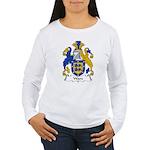 Ware Family Crest Women's Long Sleeve T-Shirt