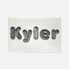 Kyler Wolf Rectangle Magnet