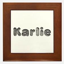 Karlie Wolf Framed Tile