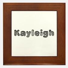 Kayleigh Wolf Framed Tile