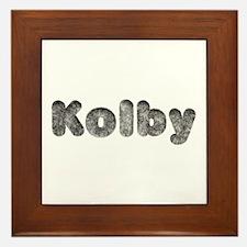Kolby Wolf Framed Tile